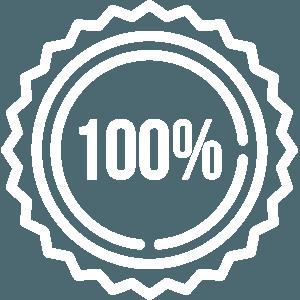 100% garancia - ikona